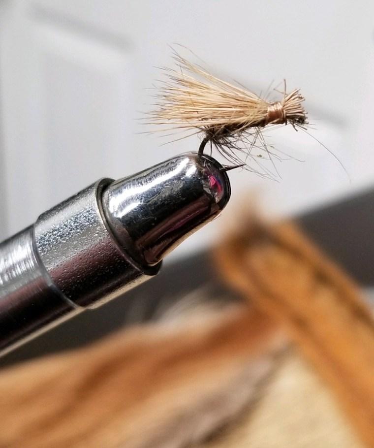 half-hearted fly tyer