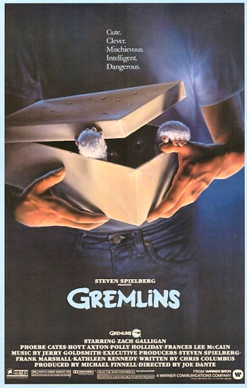 Image result for gremlins movie poster