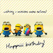 Happy Birthday Minions Images Memes Videos 2happybirthday