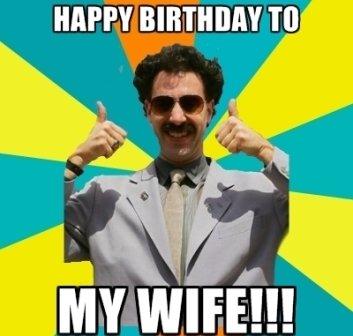 Wife Happy Birthday Meme 2happybirthday