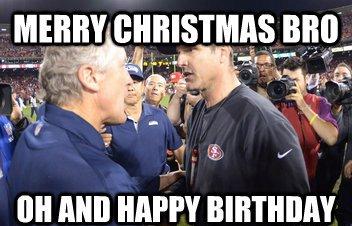 Merry Christmas Happy Birthday Meme 2happybirthday