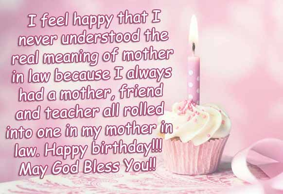 Happy Birthday Wishes For Mother In Law 2happybirthday