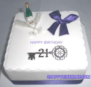 21st Birthday Cake Boys With Name 2happybirthday