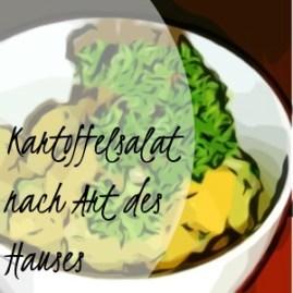 Kartoffelsalat nach Art des Hauses