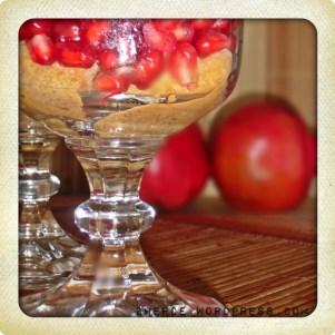 Granatapfel-Tiramisu 1