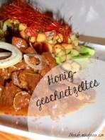 Kichererbsensalat und Honiggeschnetzeltes 1