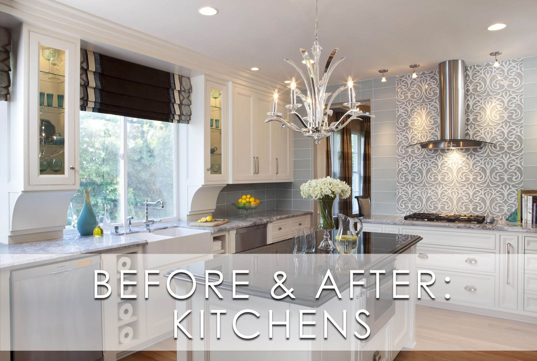 Glamorous Modern Kitchen Before And After Robeson Design