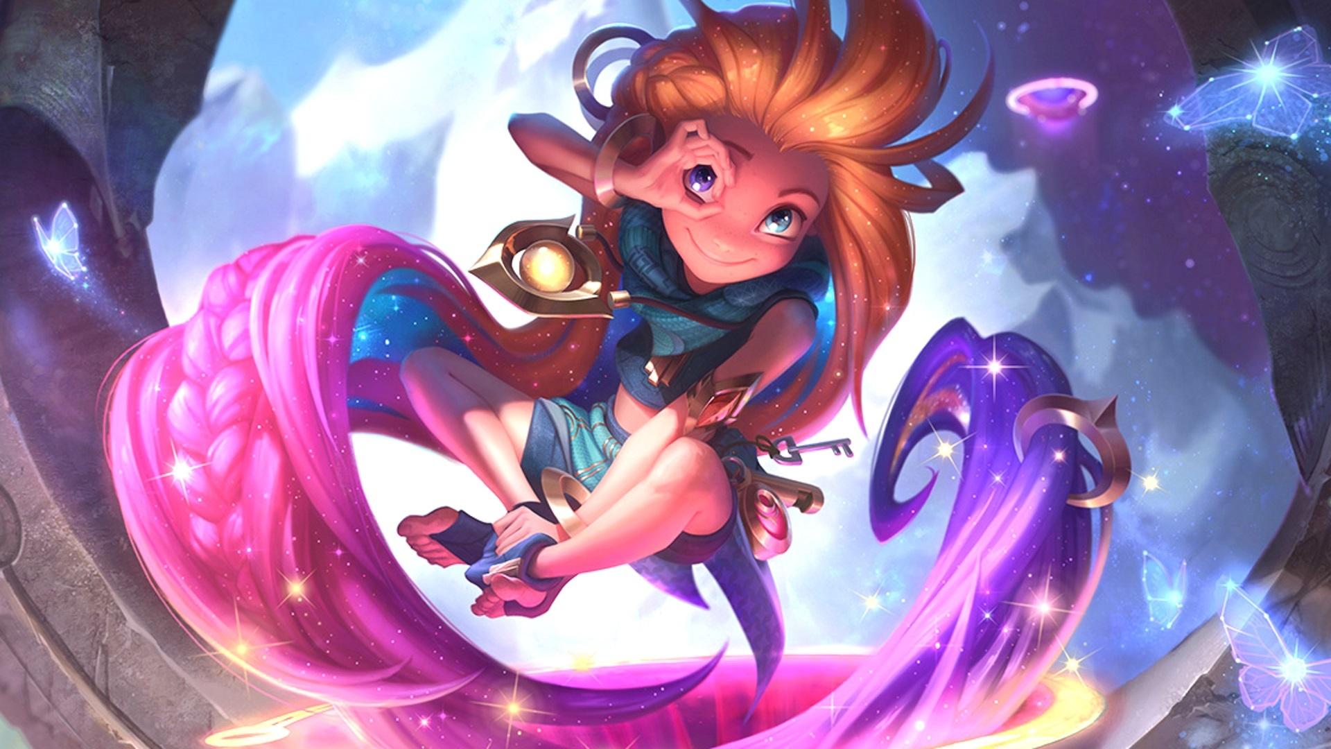 League Of Legends Zuckerse Disney Champion Zoe Im