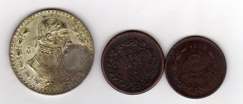 Monedas Encontradas En Mexico