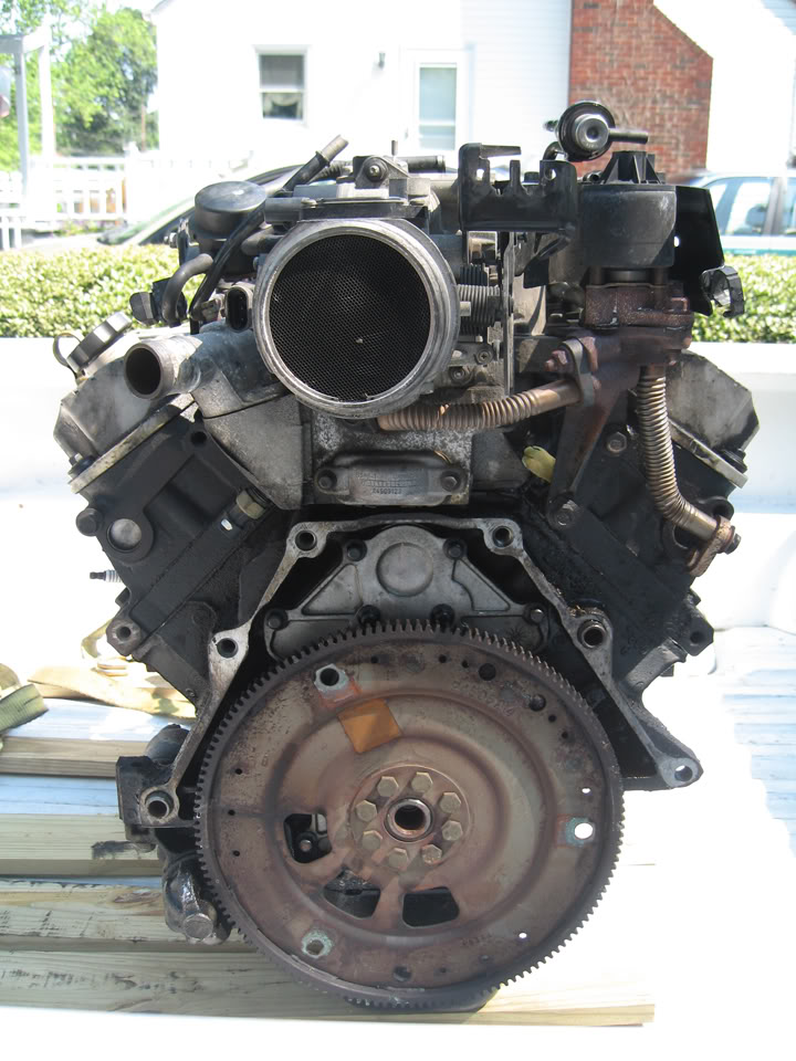 Write Up Series Ii Sc Engine Removal Amp Installation