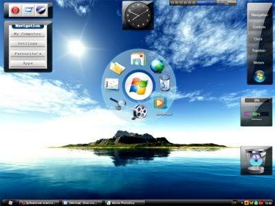 Windows 7 Theme اليكم شكل الويندوز الجديد يعمل علي Xp