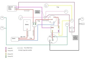Draft for Review  1010 RUS wiring diagram wDelco 3wire alternator conversion