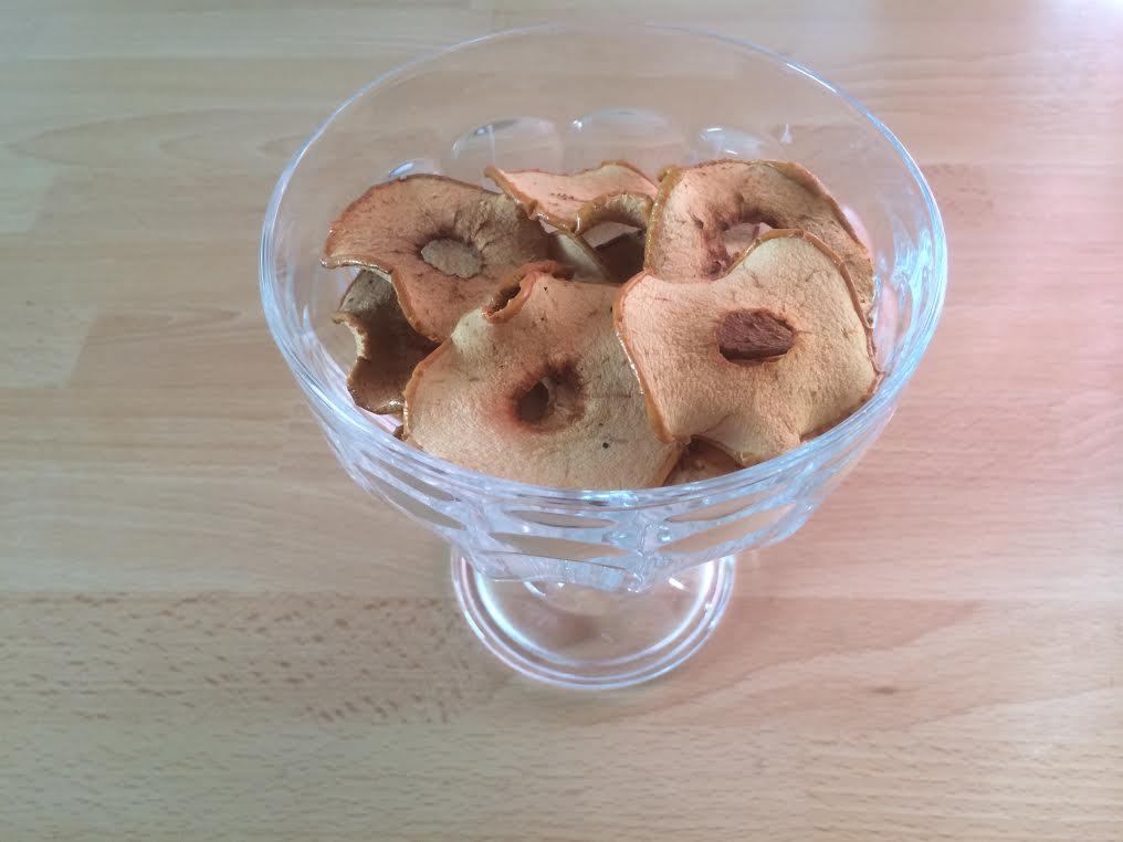 tørrede æbleskiver