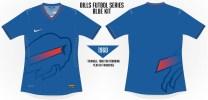 Bills Sublimated Soccer Concept Blank