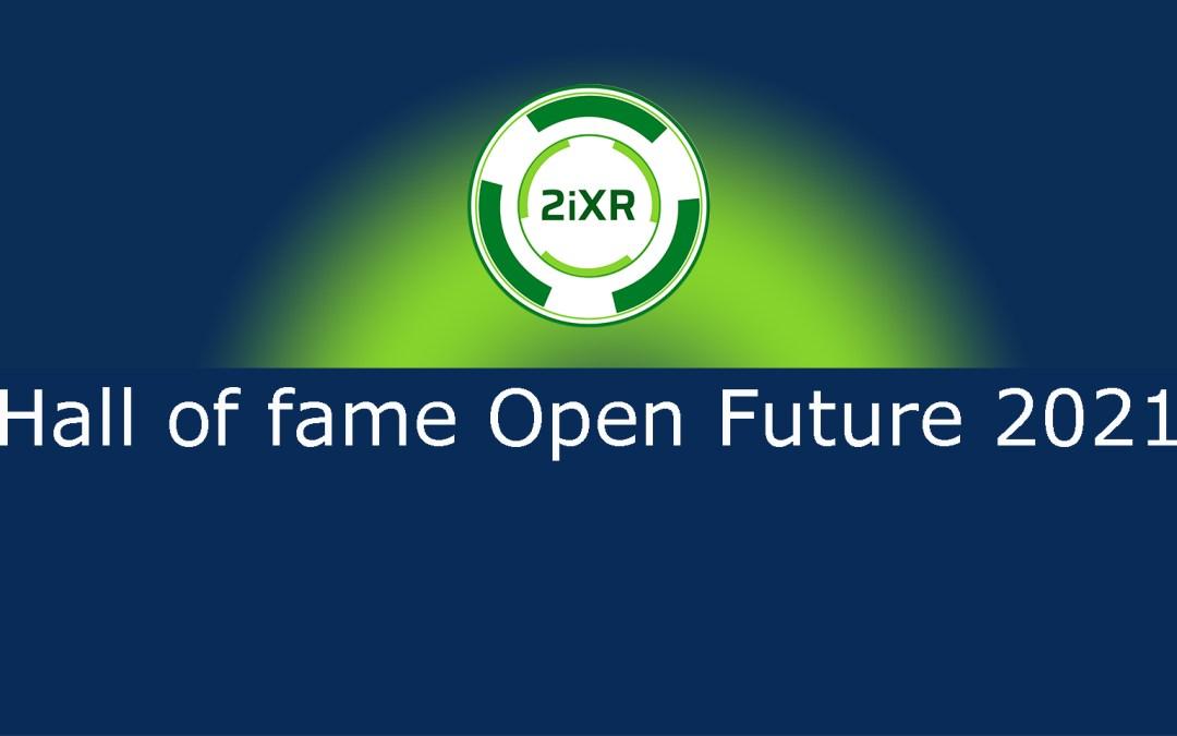 2iXR en Hall of fame Open Future 2021