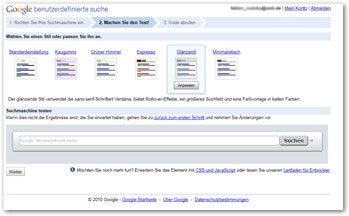 google custom search 2