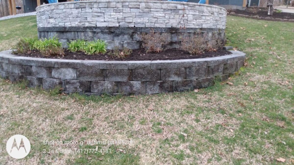 add new mulch to gardens