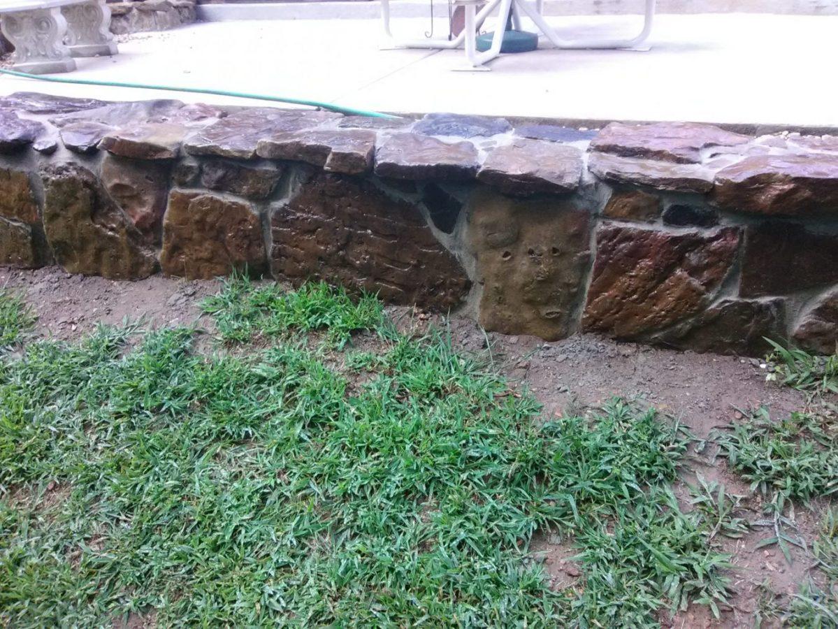 block wall cladding