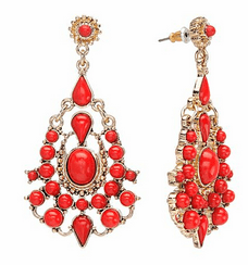 C Chandelier Earrings
