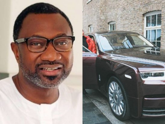 Femi Otedola reacts to his daughter DJ Cuppy buying a Rolls
