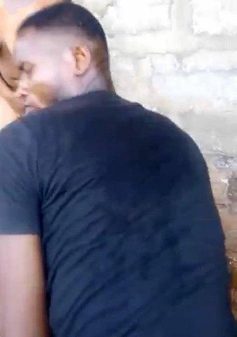 Man who tortured the lady accused of stealing a phone in Benin - Picture