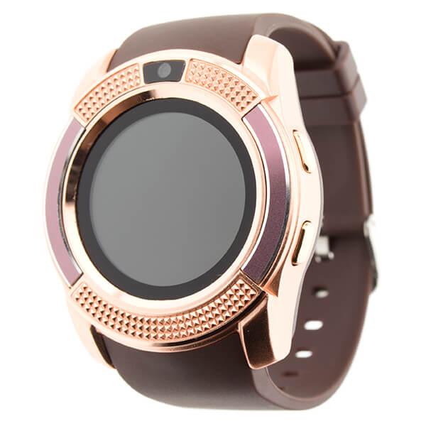 Смарт-часы V8 золотой