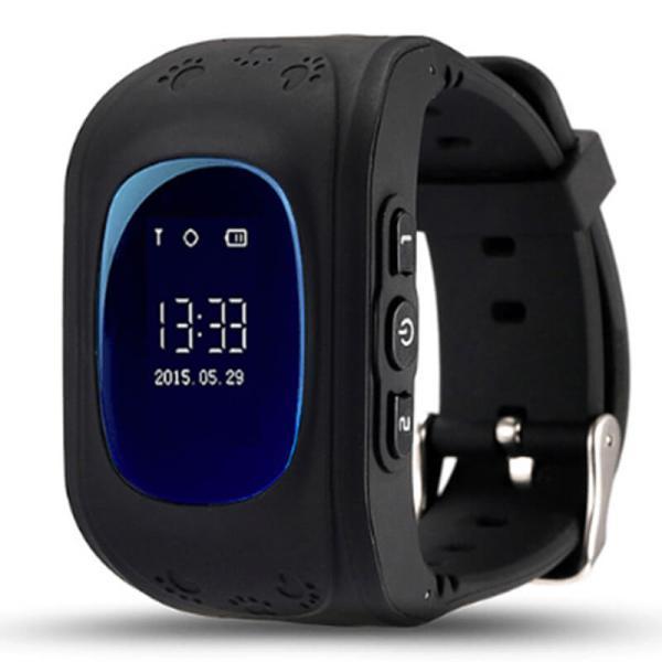 Детские Smart часы Baby watch Q50 0.96+GPS трекер Black