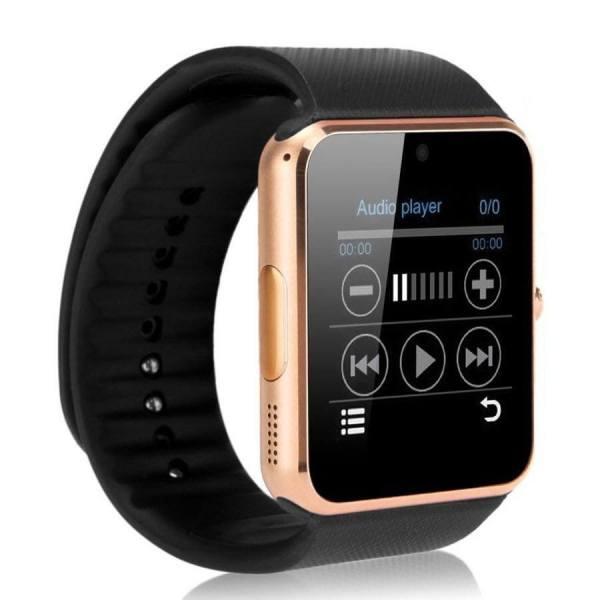Умные часы-телефон Smart Watch GT08 Gold