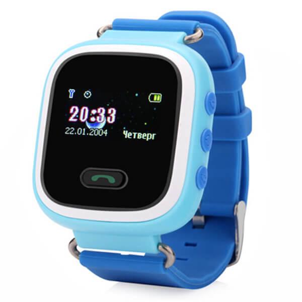Детские смарт-часы с GPS трекером Smart Baby Watch Q60 Blue