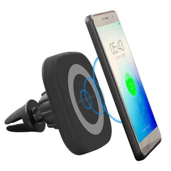 Magnetic Wireless Charger – магнитный держатель для телефона в автомобиль с функцией беспроводной зарядки