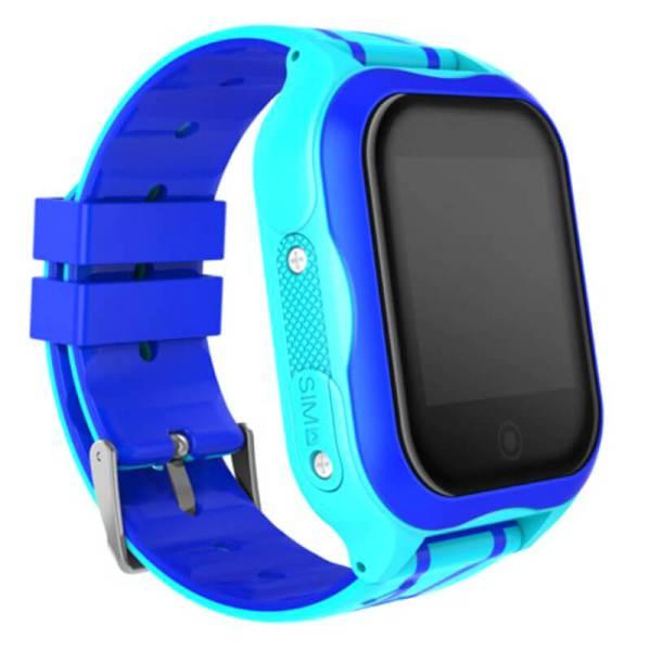 Детские умные часы с GPS Smart baby watch A32 водонепроницаемые c камерой Blue