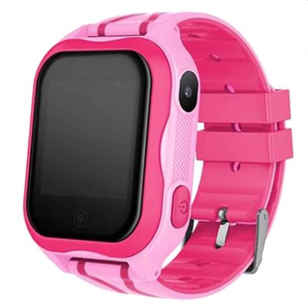 Детские умные часы с GPS Smart baby watch A32 водонепроницаемые c камерой Pink