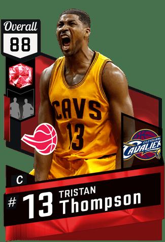 Tristan Thompson (88) - NBA 2K17 MyTEAM Ruby Card ...