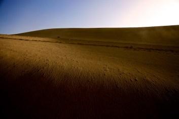 Sonne im Wüstensand