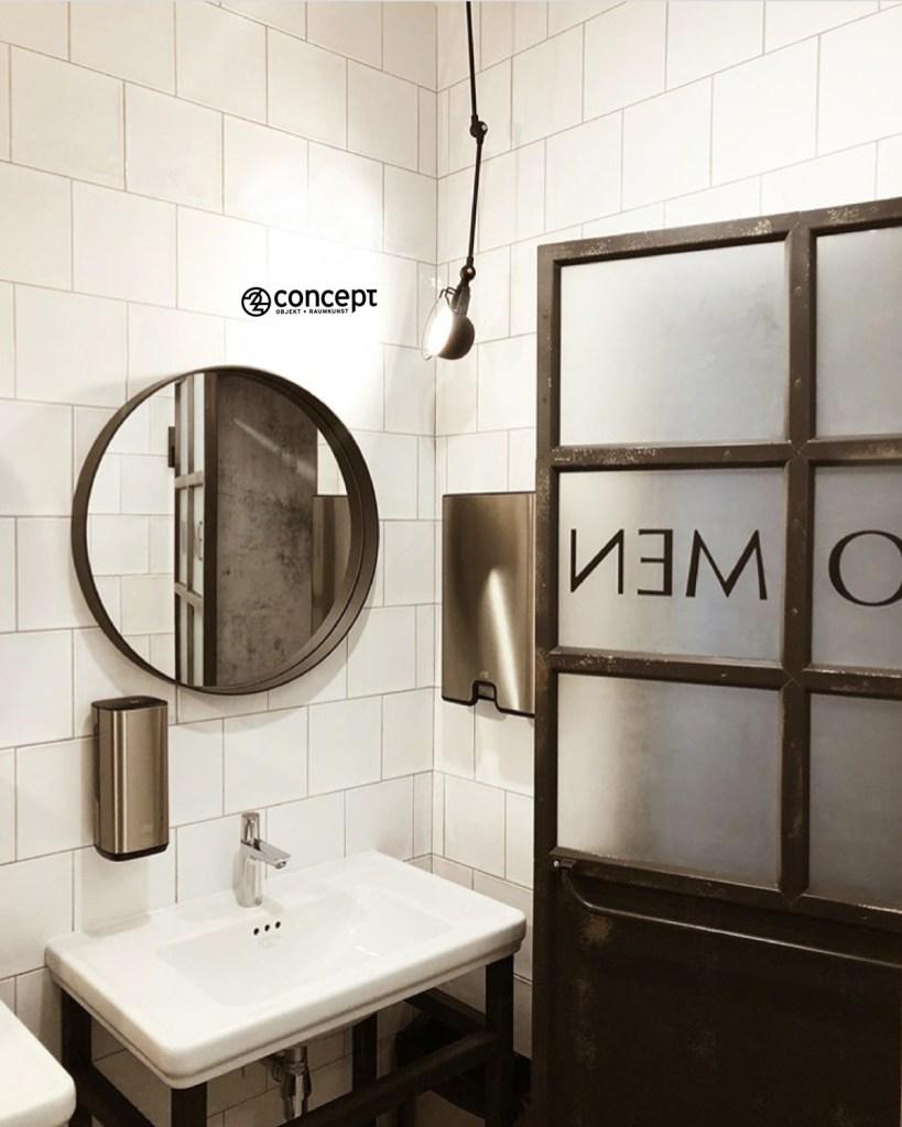 Einrichtungsideen Restaurant WC