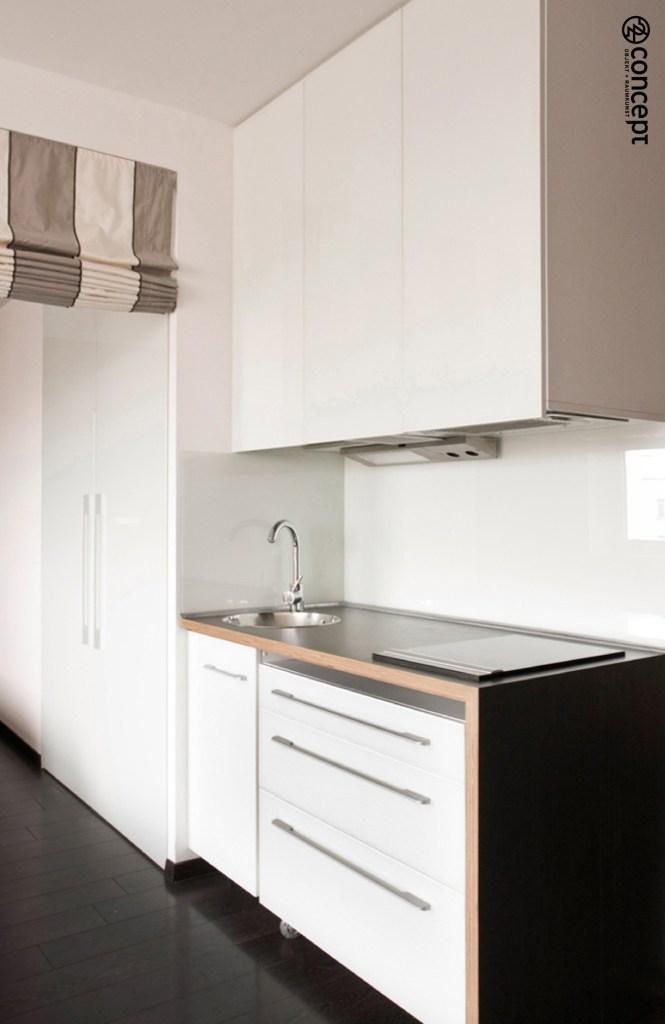 kleine Arbeitsplatte im Wohnküche