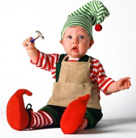 (This elf is not my baby. He's pretty awesome though.)