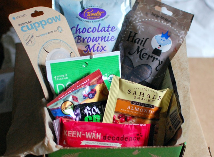 """My new addiction / Conscious Box """"Mystery Box"""" Review April 2013"""