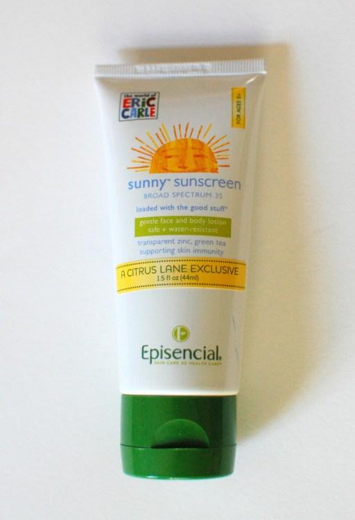 Sunscreen!
