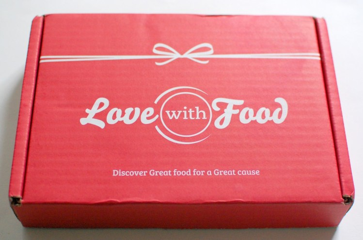 Love with Food Box July 2013 Review & Code for Free Box!