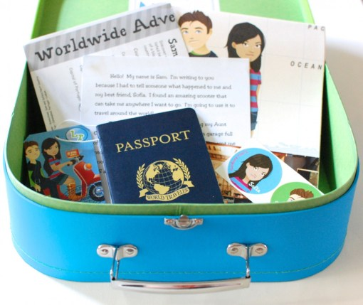 Little Passports August 2013 review