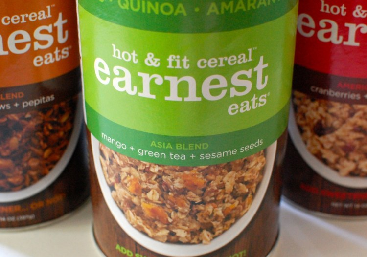 Giveaway! Earnest Eats Vegan Hot & Fit Cereal Pack — Ends 8/19