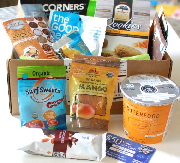 Gfreely Gluten-Free Snack Box August 2013 Review & Discount Code