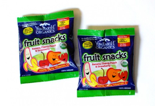 Fruit snacks!