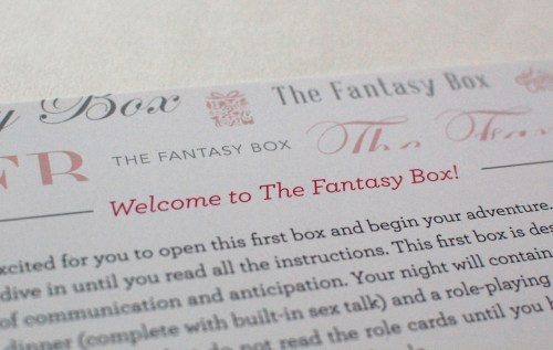 Welcome to The Fantasy Box