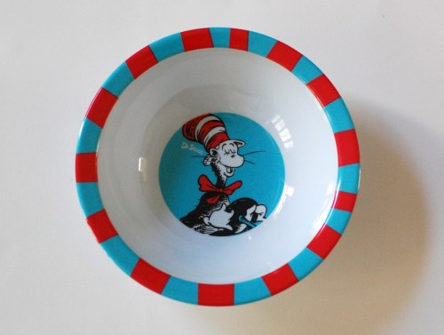 Dr. Seuss bowl