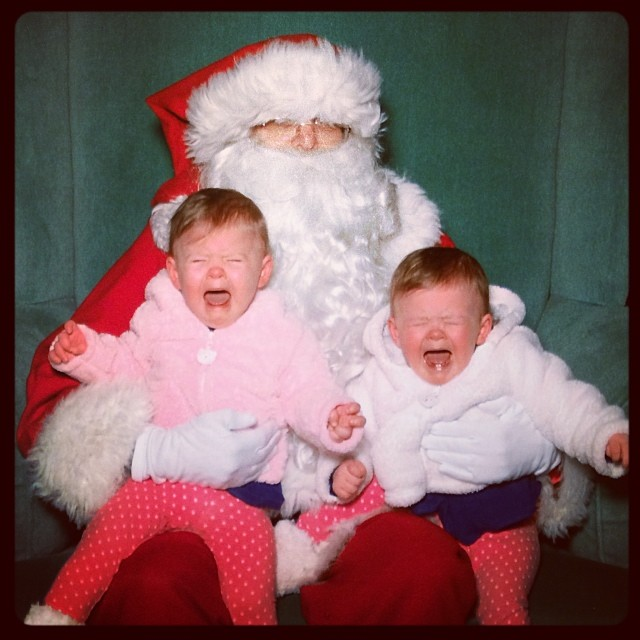 Santa: 1. Two Little Rosebuds: 0.