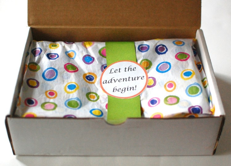Adventure Trunk February 2014 Review & Giveaway! Ends 3/10/14