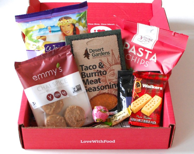 Love With Food March 2014 Review & Discount Code