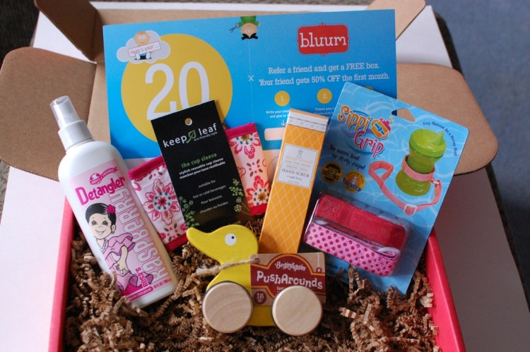 bluum March 2014 Review & 50% Off First Box